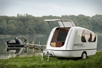 Amphibious Camping Recreation Vehicle