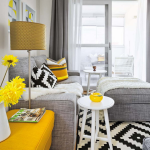 Vivacious Malaga Apartment Design With IKEA Furniture And Juicy Accents