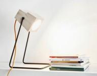 Minimalist Table Lamp Of Natural Wood