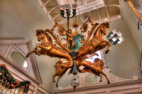 """Hippocampus Electrolier"" Chandelier Is Located in The Lobby of Disney's BoardWalk Inn"