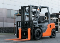 TMHA Launched a Comprehensive New Range of Counter-Balance Internal-Combustion Forklifts