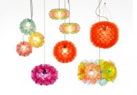 Meike Realized Great Colorful Lichtschlucker Pendant Lights of Colored Disposable Cups