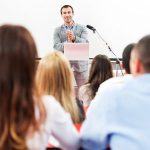 3 Things to Consider Before Hosting a Live Speaker in Your Trade Show Booth