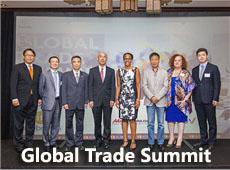 """Global Trade Summit 2017""跨境贸易峰会在美国南加州成功举办!"