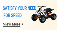 Satisfy your need for speed