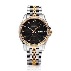 Más grande de acero inoxidable automático Wath Swiss Quality reloj mecánico