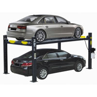 Equipamento de garagem de elevador de estacionamento com classificação comercial de 4 lugares (408-P)