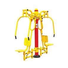 Chaises extérieures de poussée d'équipement de forme physique