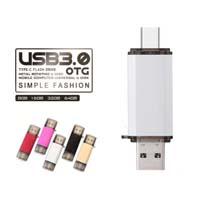 Type-c entraînement de crayon lecteur du lecteur flash 16GB d'OTG USB 3.0