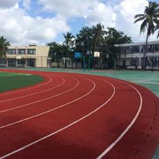 Pista de Corrida de Plástico Híbrido para Campo Esportivo/ Parque Infantil/ Locais de Eventos