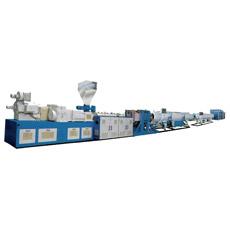 Ligne machine d'extrusion de pipe de PVC de plastique