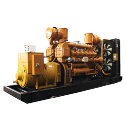 Conjunto de gerador de gás de biomassa de 700kw de saída trifásica com CE, ISO, BV