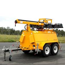 La tour légère mobile diesel avec 6X1500W s'allume (MLT9K-9H)