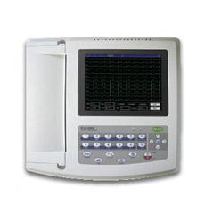O CE certificou 12 a máquina do monitor ECG da frequência cardíaca da máquina do chumbo ECG (ECG1200G)