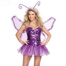 Traje de Hada de la mariposa de fantasía (L1427)