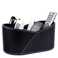 Falso Leather Rotatable Remote Control Holder da forma para Hospital Beds