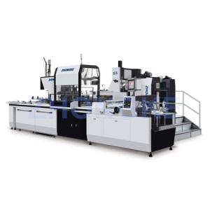 Pleine boîte de papier rigide automatique Making Machine (ZK-660A)