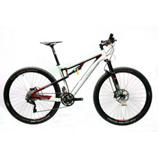 Full Carbon Fiber Mountain Bicycle with Deore Xt