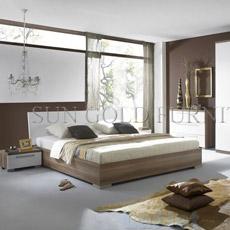 Lit à la maison de chambre à coucher de salle de séjour d'hôtel (SZ-BF036)