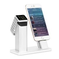 2 в 1 стыковке заряжателя поручая для Apple Iwatch на Se 7 7s 6 6s iPhone плюс