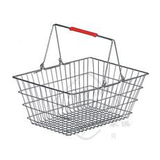 Cesta de Compra de Cromo de Supermercado