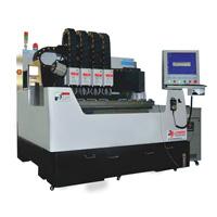 Laser de vidro do CNC da estaca da gravura do papel de couro que cinzela a máquina