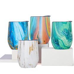 Vaso de vácuo de aço inoxidável de paredes duplas