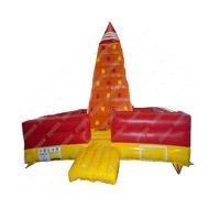 Parede inflável de venda quente da escalada de rocha da água do divertimento do PVC
