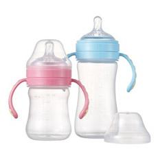 100% Garrafa de Alimentação para Bebê / Silicone Líquido Líquido de Alimentação / Frasco de Alimentação de PP / Garrafa de Leite / Silicone Nipple
