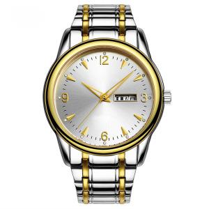 Relógio Automático de Quartzo e Aço Inoxidável para Homem (Ja 180)