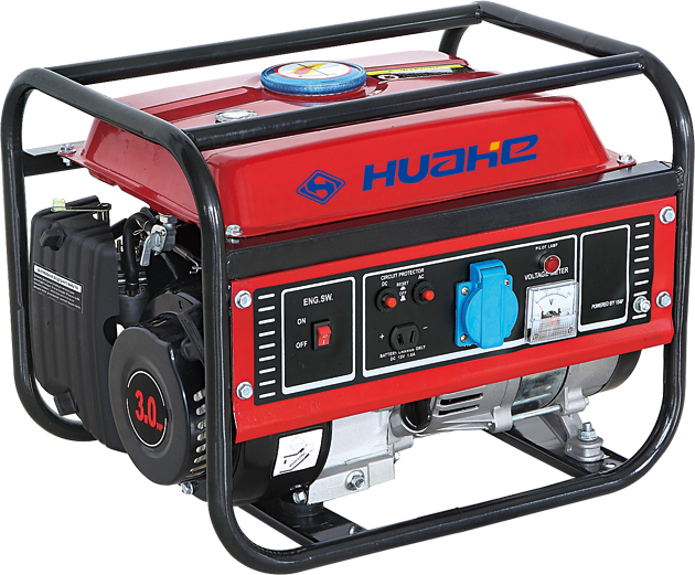 HH1500-A03 Home Use Standby Gasoline Engine Generator, Gasoline Generator avec du CE (1kw, 1.1kw)