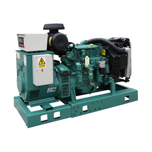 60Hz Standby Power 114kw/142kVA Volvo Diesel Generator