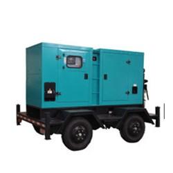 Groupe électrogène insonorisé diesel de bas de page mobile de Kusing