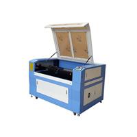 Preço acrílico de vidro da máquina de gravura da estaca da tela do papel da madeira compensada do CO2 do laser