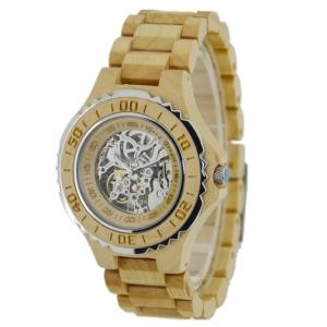 Reloj de manera de madera del nuevo del estilo movimiento automático de Japón Bg438