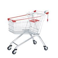 Loja de metal Carrinho de carrinho de compras de supermercado