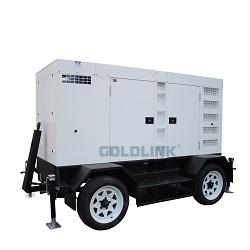 передвижной тепловозный генератор 10-500kw
