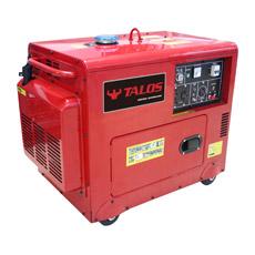 gerador Diesel silencioso de 5 kVA (DG6500ES)