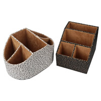 Produtos novos quentes para a caixa de armazenamento 2016 de couro