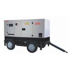 Серия генератора портативного передвижного трейлера тепловозная молчком