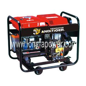 5kVA 4kw Standby Open Diesel Generator avec Large Fuel Tank