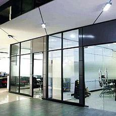 Mur en verre Partitions pour Office