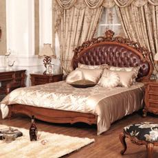 Meubles de chambre à coucher avec trois couleurs