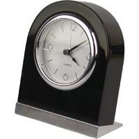 Relógio de Mesa de Quartzo de Madeira