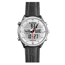 Yxl-580 2016 Reloj caliente del Backcase del acero inoxidable del cuarzo de la muñeca de Vouge de la manera de la manera