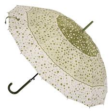 Impressão de PONTO aberta do automóvel fora do guarda-chuva reto (JS-001)