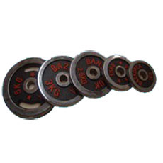 Barbell de plat, haltère de poids, Barbell de chrome (USH-1)