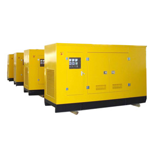 Groupe électrogène insonorisé de gaz (20-500kw Commins)