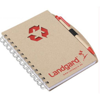 Recycled Custom Hot Selling Spiral Paper School Notebook para Promoção (SNB101)