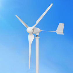 горизонтальный генератор энергии ветра 300W для домашней пользы (МИНИЫЕ 300W)